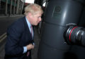 Conservative party leadership contender Boris Johnson