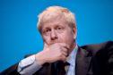 Conservative party leadership candidate Boris Johnson.
