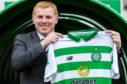 Neil Lennon at his unveiling as permanent Celtic boss