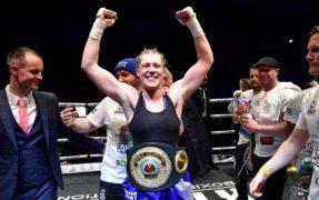 Hannah Rankin, 28, boxer, Luss