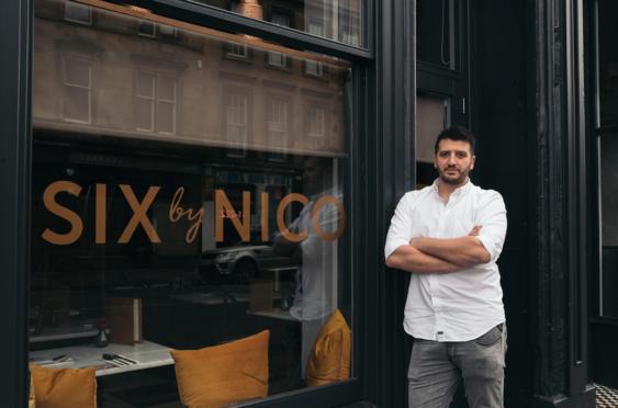 Renowned Scottish=Italian chef, Nico Simeone.
