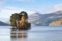 The Isle of Spar on Loch Tay