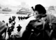 Allied troops charge ashore along stretch of Normandy coast on D-Day