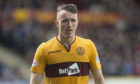 David Turnbull in action for Motherwell