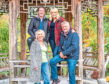The Great Garden Challenge. Pictured: (L-R) Diarmuid Gavin, Carol Klein, Nicki Chapman and Mark Gregory.