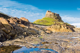 Lindisfarne's 16th Century fairytale castle attracts many visitors