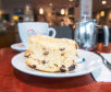 16/07/19 Sunday Post Largs Bagel Basket coffee shop and cafe Scone Spy.