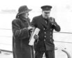 Mrs Kathleen Hill and Winston Churchill, 1941