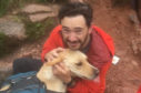 Woody was reunited with owner Jack after getting lost on Ben Macdui