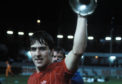 Mark McGhee with the European Cup Winners Cup, 1983