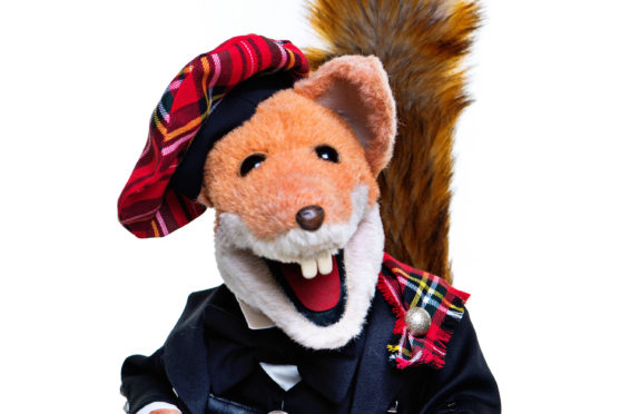 Basil Brush Edinburgh
