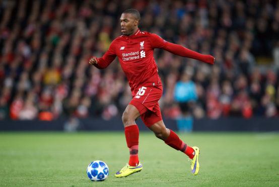 Daniel Sturridge in action for Liverpool