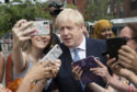 Boris promised to recruit 20,000 more police officers on a visit to Birmingham, but ruled out an immediate General Election