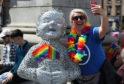 Pride event in George Square