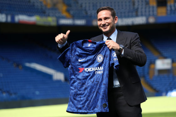 Chelsea's new manager Frank Lampard