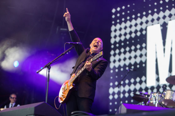 Midge Ure  performs at Rewind Festival 2018  - Sunday 22nd July 2018
