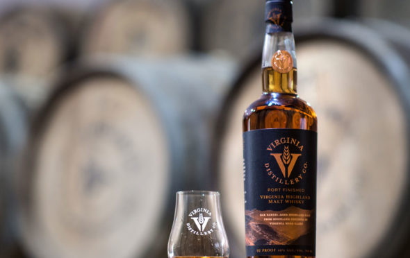 Virginia Distillery labelling has been described as false and misleading