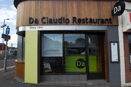 Da Claudio Restaurant in Motherwel