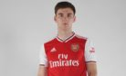 Kieran Tierney completed his move from Celtic to Arsenal on Thursday