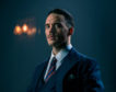 Oswald Mosley played by Sam Clafin in season five of Peaky Blinders.