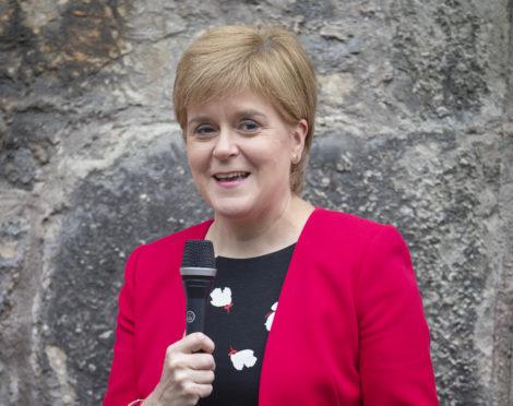 Nicola Sturgeon announced Wear Red Day last month.