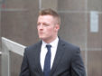 Daniel Hamilton is accused of using police computers to find where is ex partner now lives.