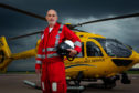 Dr Stephen Hearns of the Scottish Air Ambulance Service