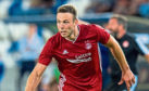 Andrew Considine in action for Aberdeen