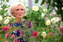 Mary Berry at the RHS Chelsea Flower Show at the Royal Hospital Chelsea, London.