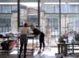 Students signed up to study for a degree at Glasgow's prestigious School of Art with its top-rated lecturers in studios that provide a light, airy and friendly environment