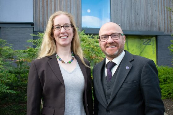 Lorna Slater and Patrick Harvie