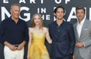Kevin Costner, Amanda Seyfried, Milo Ventimiglia and Patrick Dempsey at Art Of Racing In The Rain premiere