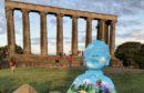Oor Wullie on Edinburgh's Calton Hill