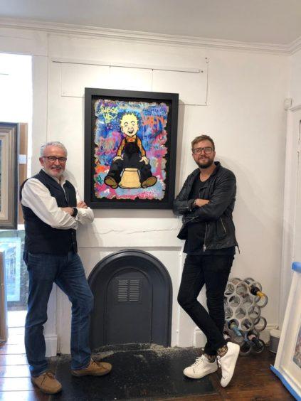 Iain with Bob Corsie