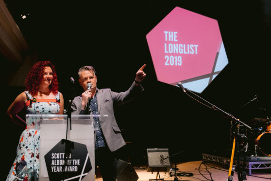 Nicola Meighan and Vic Galloway announce the Longlist