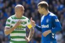 Both sides of the Old Firm are sponsored by betting companies