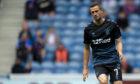 Jamie Murphy in action for Rangers