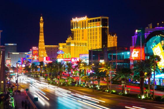 Bright lights, big city: The Strip is a neon  wonderland