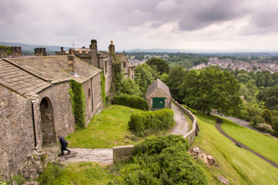 The charming Clitheroe Castle