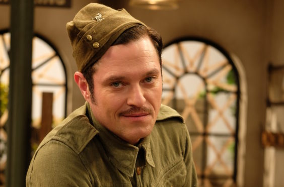 Mathew Horne as Private Walker in Dad's Army