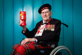 Legendary Edinburgh fundraiser Tom Gilzean laid to rest in tartan coffin
