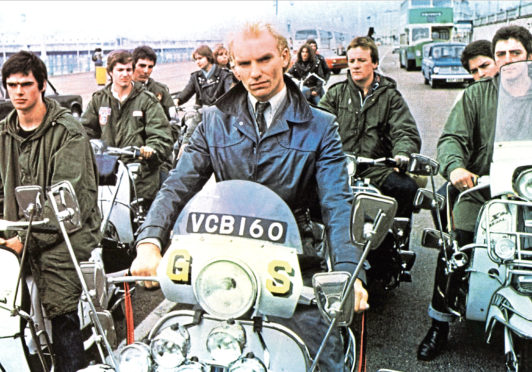 Sting as Ace Face in Quadrophenia