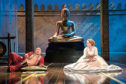 Jose Llana and Annalene Beechey in the West End production of The King And I