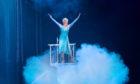 Olivia Oltmanns as Elsa in Disney On Ice, which begins a run in Glasgow this week