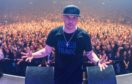 Mix Master Mike on stage