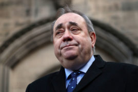 Alex Salmond denies attempted rape and sexual assault charges in court appearance