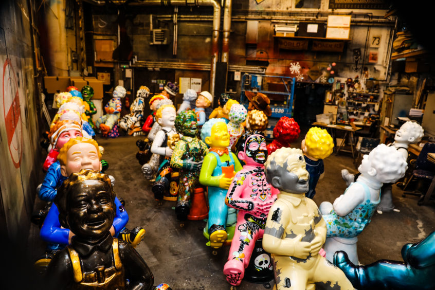 Video: Oor Wullie statues sold for whopping £239,000 in first charity auction - Sunday Post