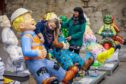 Oor Wullie sculptures in Dundee are cleaned up ahead of the farewell events