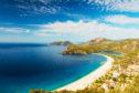 Oludeniz lagoon beach, Fethiye, Turkey