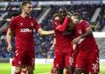 Borna Barisic, left, provided the assist for Rangers' goal